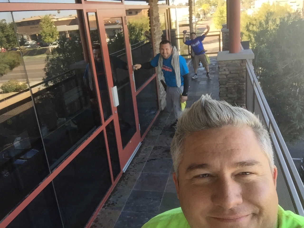 Commercial window washing in AZ
