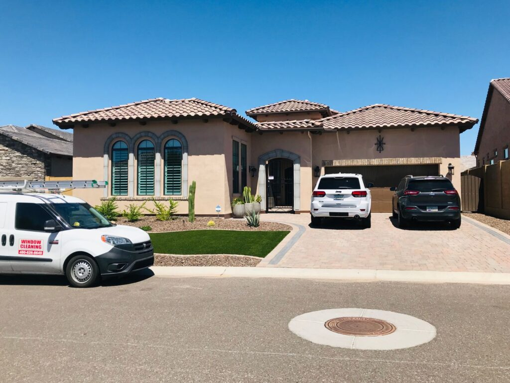 residential window cleaning in Mesa, Az